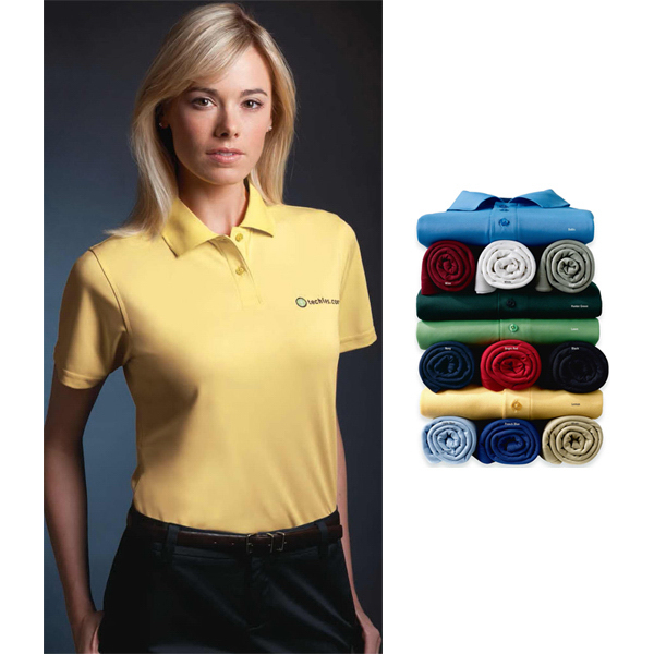 Personalized Jockey (R) Ladies' Ultimate Pique Polo