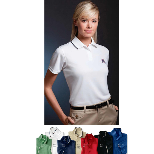 Promotional Jockey (R) Ladies' Ultimate Tipped Pique Polo