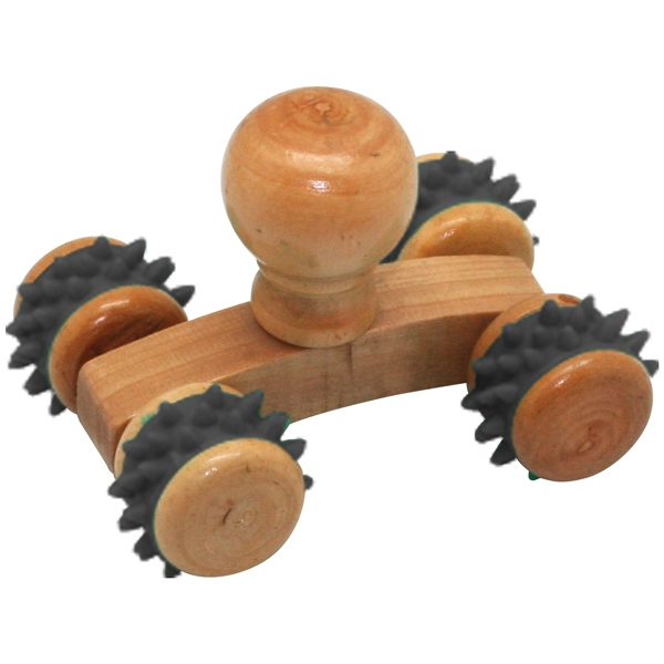 Personalized Small Wooden Massager