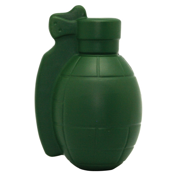 Customized Squeezies (R) Grenade stress reliever