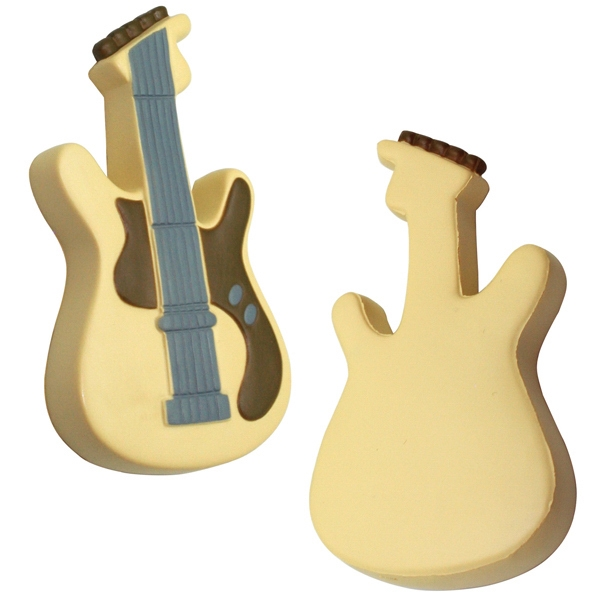 Printed Squeezies (R) Guitar Stress Reliever