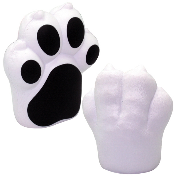 Imprinted Squeezies (R) Paw Stress Reliever