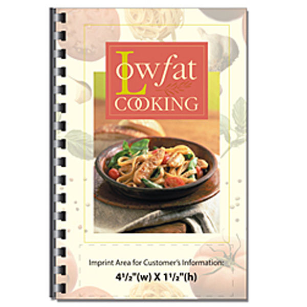 Printed Low Fat Cooking Cookbook