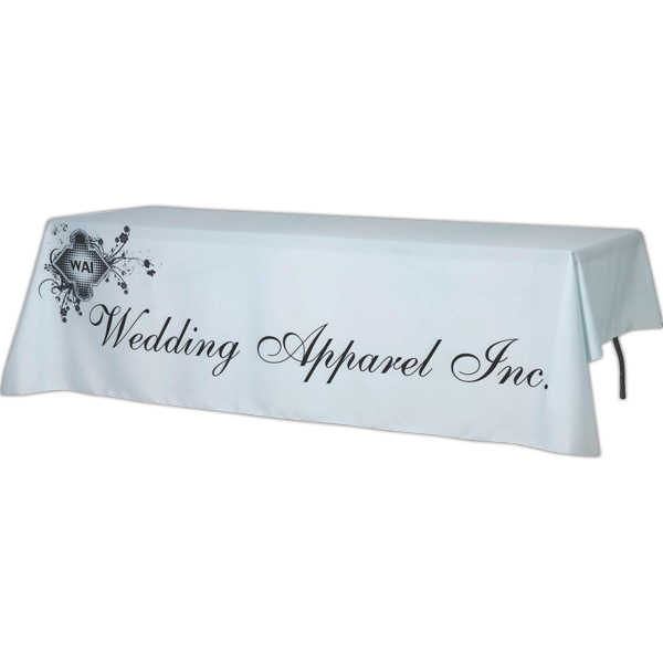 Promotional Digital Draped 8 Ft. Table Cover