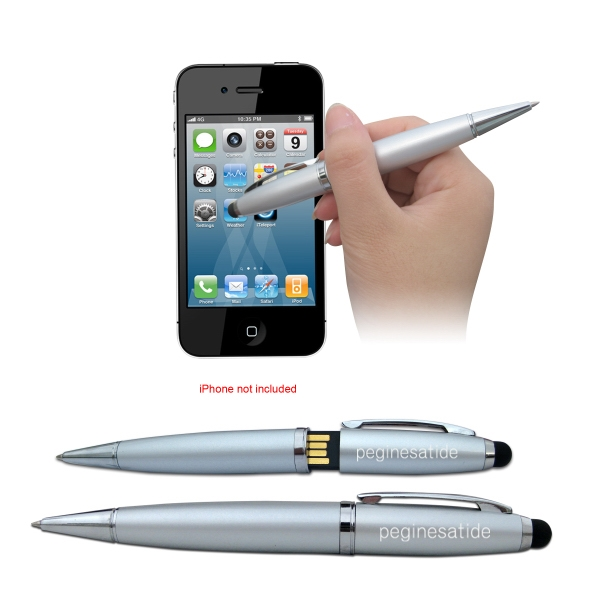 Customized 3-in-1 Stylus USB Pen Drive