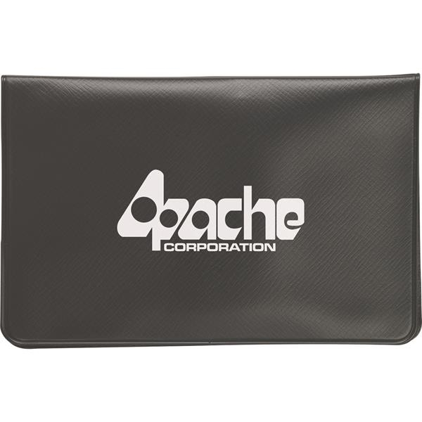 Personalized Black Vinyl Pouch