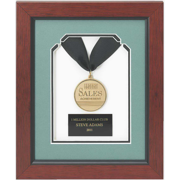 Custom Gold Framed Medallion Award