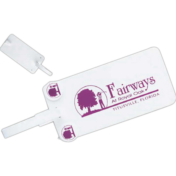 Personalized Bag Tag with Ball Markers