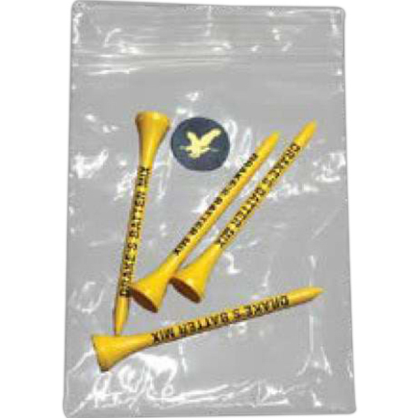 Imprinted Golf Tee Packs