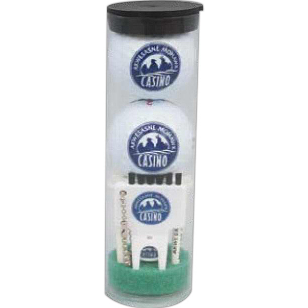 Personalized Golf ball tube pack