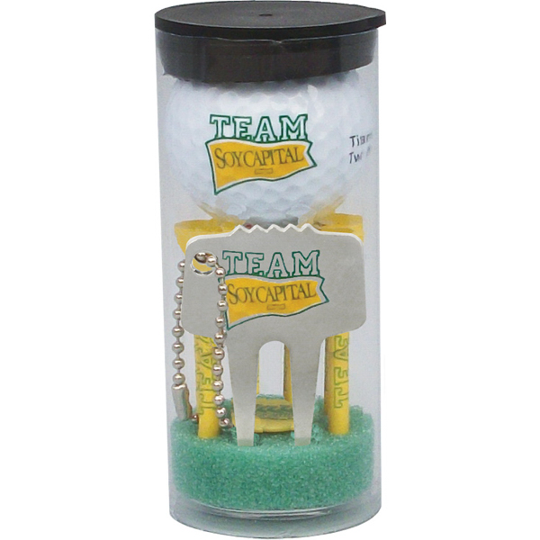 Promotional Golf ball tube pack
