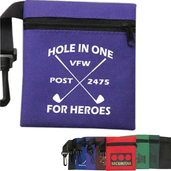 Promotional Canvas Golf Pouch