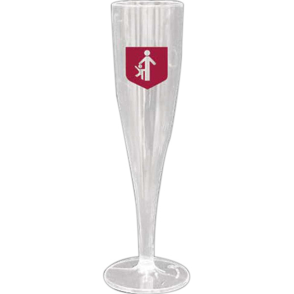 Imprinted Champagne Glass