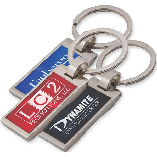 Promotional Bristol metal key tag