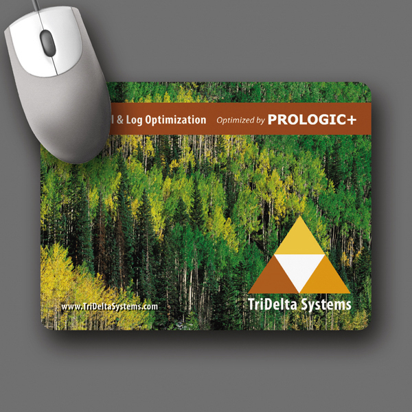 "Imprinted SoftTouch® 6""x8""x1/8"" Antimicrobial Mouse Pad"