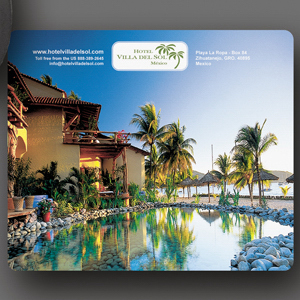 """Custom SoftTouch® 8""""x9.5""""x1/16"""" Antimicrobial Mouse Pad"""