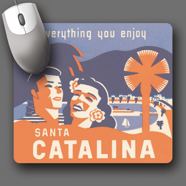 """Customized SoftTouch® 7.5""""x8.5""""x1/16"""" Antimicrobial Mouse Pad"""