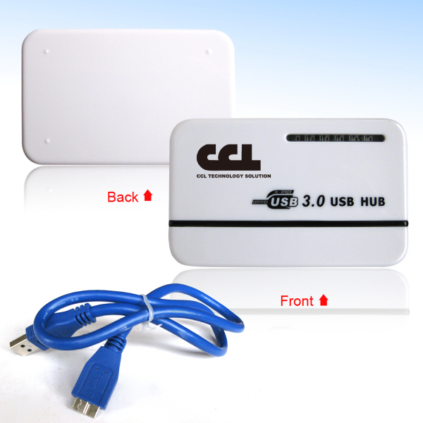 Customized USB3.0 High Speed 4 Port Hub