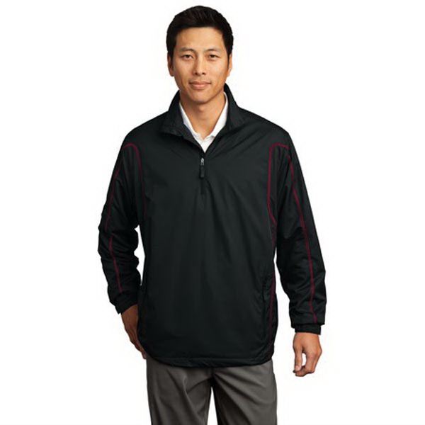 Custom Nike Golf 1/2-zip wind jacket