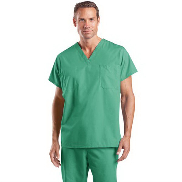 Personalized Cornerstone® reversible v-neck scrub top