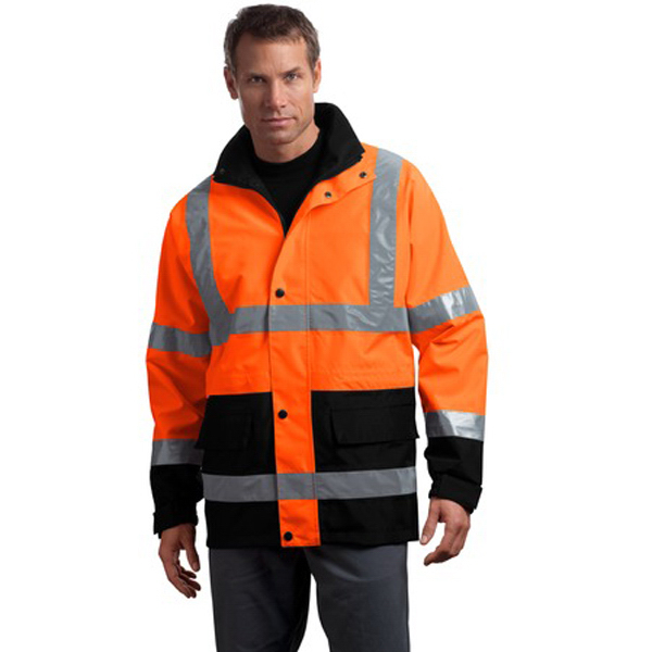 Promotional Cornerstone® ANSI class 3 waterproof parka
