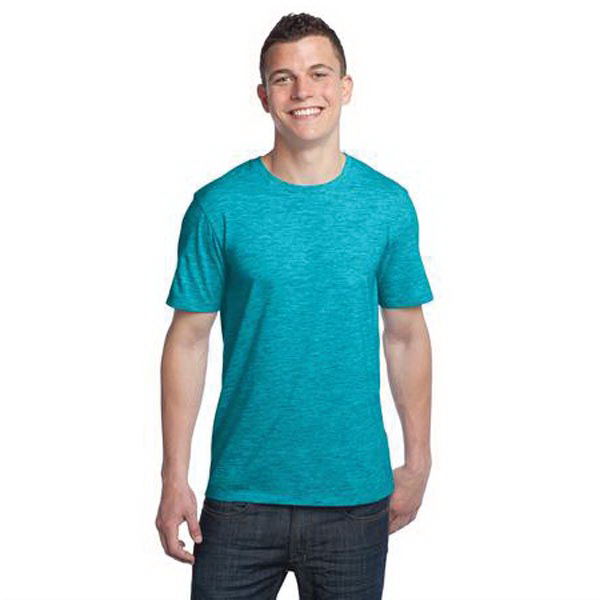 Printed District (R) Young men's extreme heather crew t-shirt