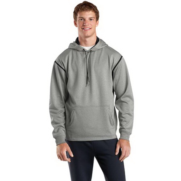 Personalized Sport-Tek® tech fleece hooded sweatshirt