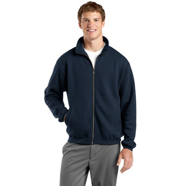 Printed Sport-Tek® full-zip sweatshirt