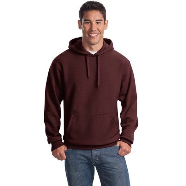 Imprinted Sport-Tek® super heavyweight pullover hood sweatshirt