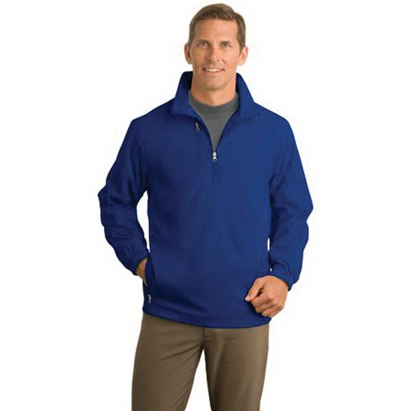 Personalized Port Authority® 1/2-zip wind jacket