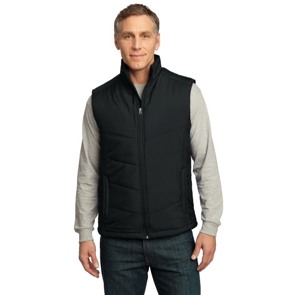 Imprinted Port Authority® puffy vest