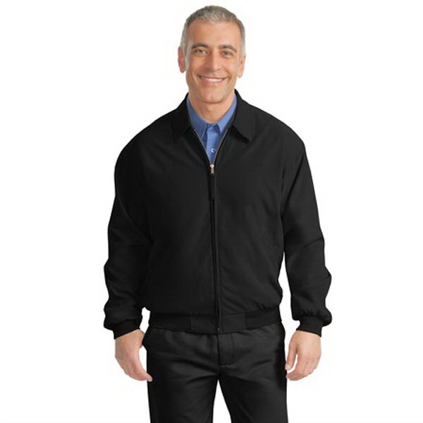 Personalized Port Authority® casual microfiber jacket