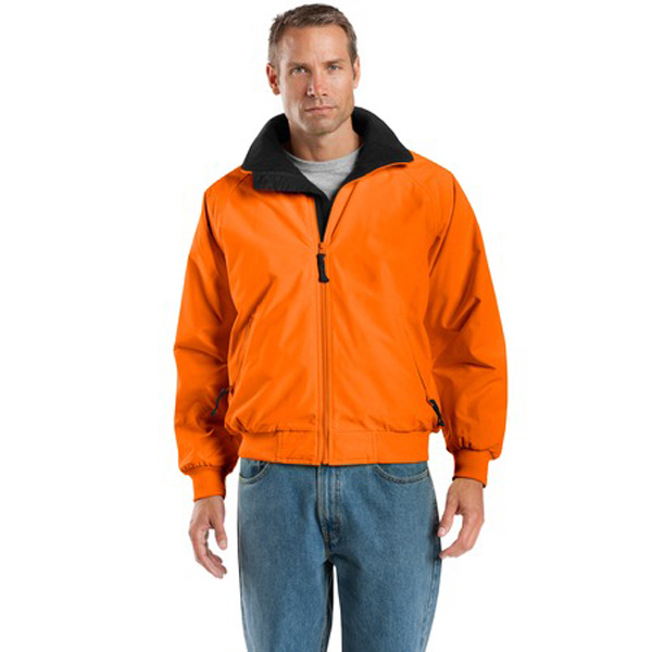 Printed Port Authority® safety Challenger (TM) jacket