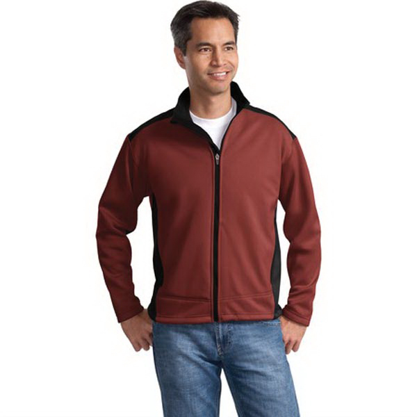 Promotional Port Authority® two-tone soft shell jacket