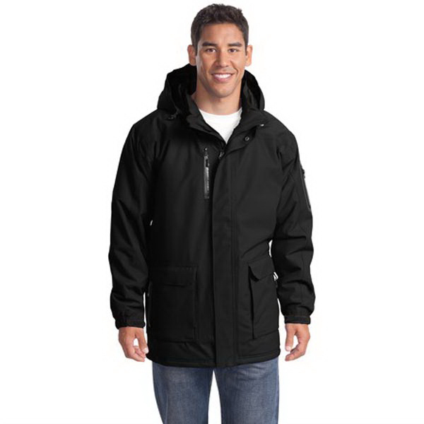 Personalized Port Authority® heavyweight parka