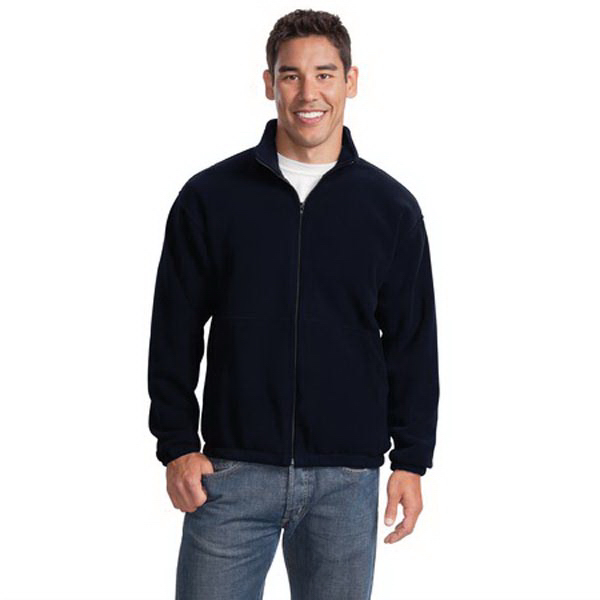 Customized Port Authority® R-Tek® fleece full-zip jacket