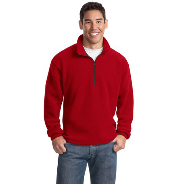 Personalized Port Authority® R-tek® fleece 1/4-zip pullover