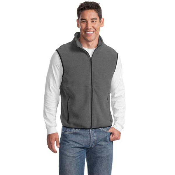 Printed Port Authority® R-Tek® fleece vest