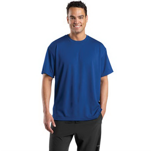 Personalized Sport-tek® Dri-Mesh® short sleeve t-shirt