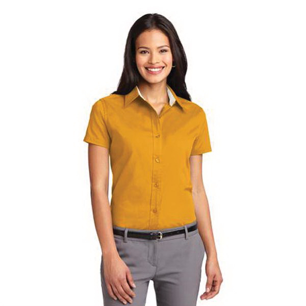 Custom Port Authority® Ladies' short sleeve easy care shirt