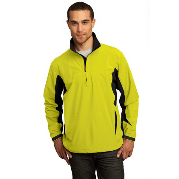 Customized Ogio® wicked weight half-zip jacket