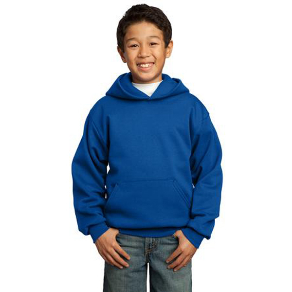 Promotional Port & Company® youth pullover hooded sweatshirt