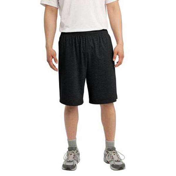 Printed Sport-Tek (R) Jersey Knit Short with Pockets