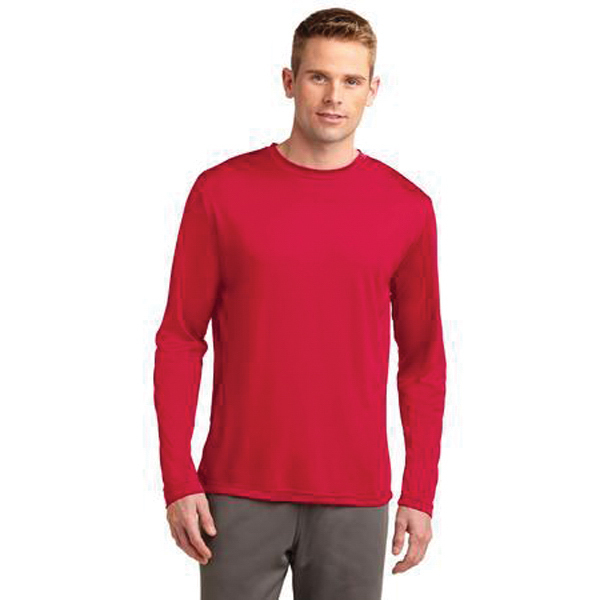 Imprinted Long sleeve lightweight Competitor (TM) tee