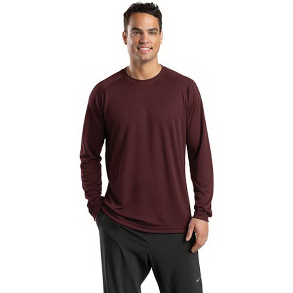 Printed Sport-Tek (R) Dry Zone(TM) Long Sleeve Raglan T-Shirt