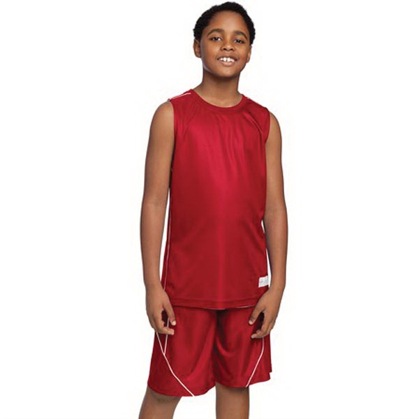 Personalized Sport-Tek(R) Posicharge Mesh (TM) reversible sleeveless tee