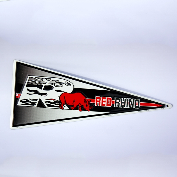 Imprinted Mini Pennant Sign