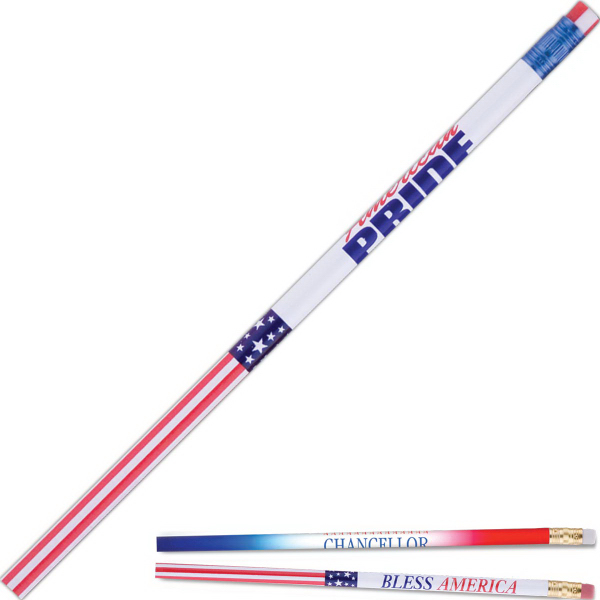 Printed Patriotic (TM) pencil