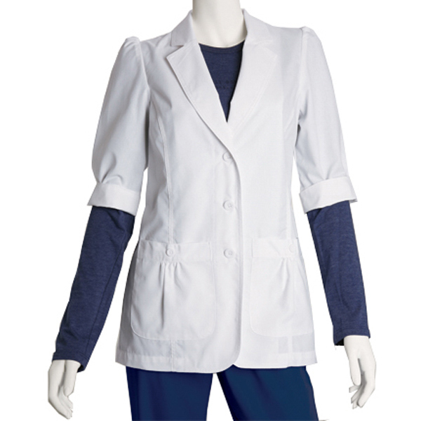 Customized Barco Prima Short Sleeve Women's Lab Coat