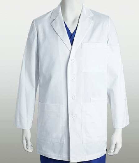 "Custom Barco ICU Unisex 34"" Lab Coat"